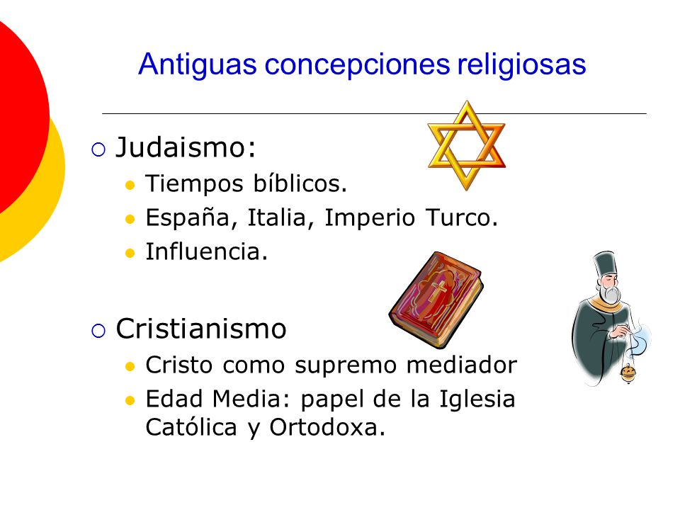 Judaismo: Tiempos bíblicos.España, Italia, Imperio Turco.