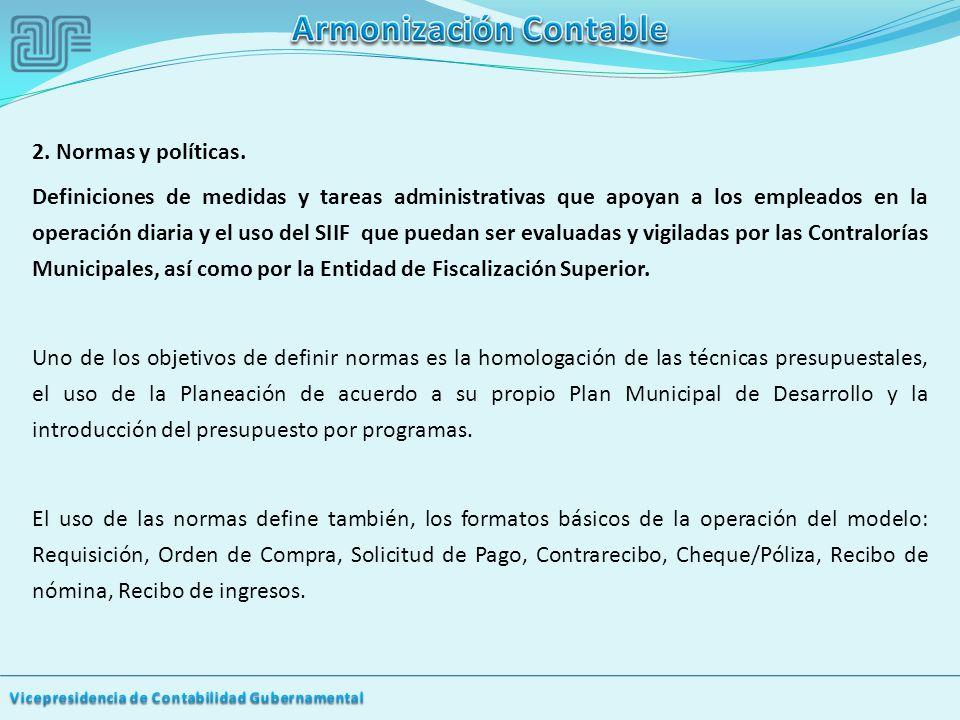 2.Normas y políticas.