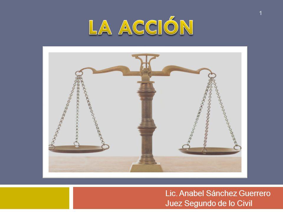 Lic. Anabel Sánchez Guerrero Juez Segundo de lo Civil 1
