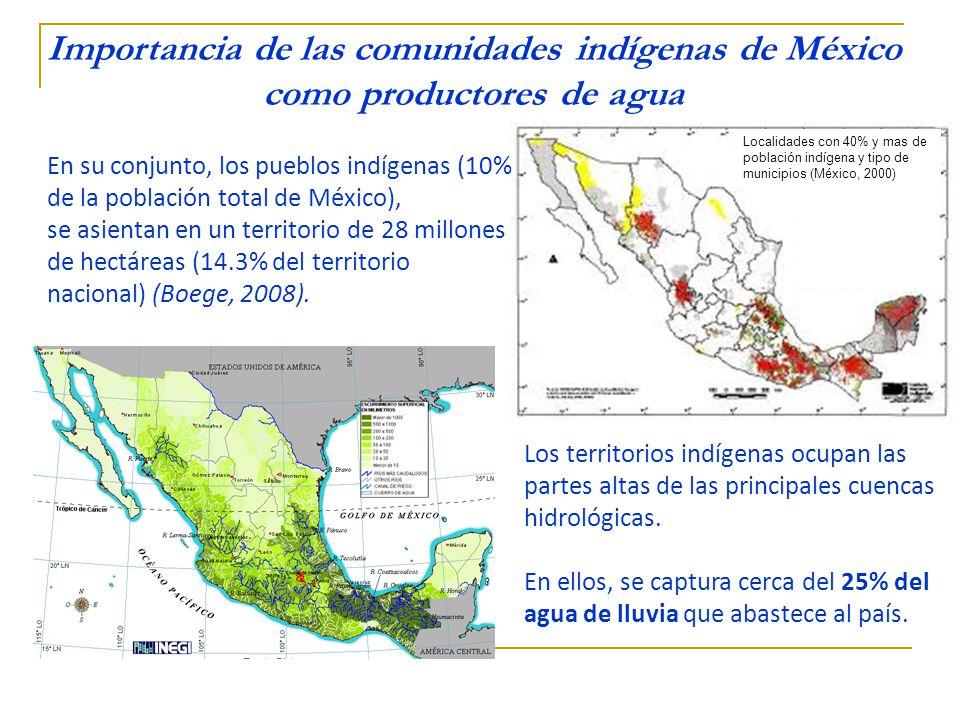 Los principales problemas en relación con el agua que enfrentan las comunidades La contaminación de las fuentes de abastecimiento - por productos químicos - por aguas negras (proveniente de la infiltración de las fosas sépticas) El racionamiento del agua sobre todo en periodo de sequías.