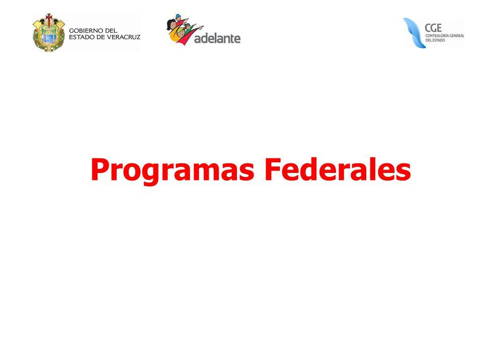 Programas Federales