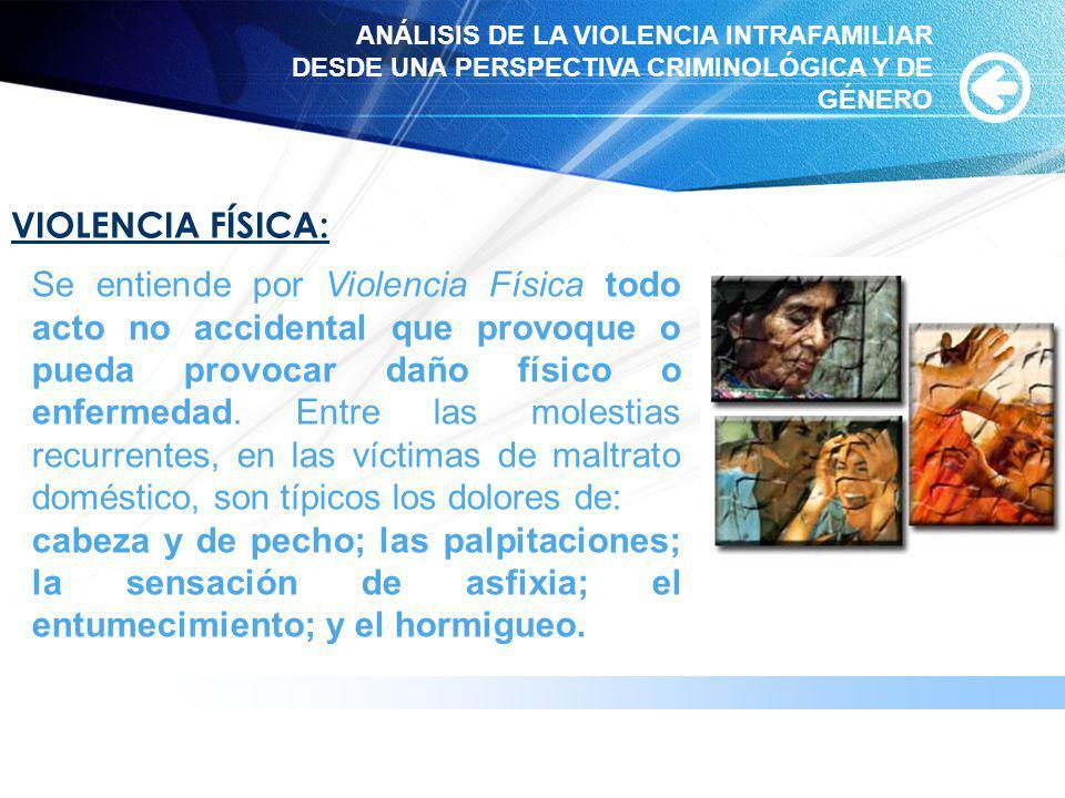 www.themegallery.com VIOLENCIA FÍSICA: Se entiende por Violencia Física todo acto no accidental que provoque o pueda provocar daño físico o enfermedad