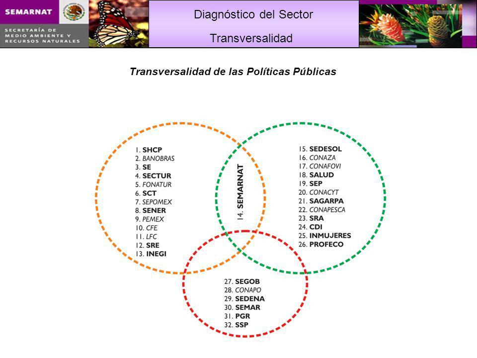 Diagnóstico del Sector Transversalidad de las Políticas Públicas Transversalidad