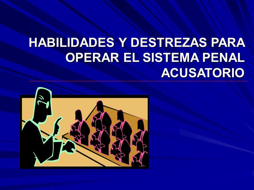 COGNOSCITIVA INTERPRETATIVA BUENA FE ARGUMENTATIVA LIDERAZGO ANALISIS CRITICO COMUNICATIVA CREDIBILIDAD TECNICA-NORMA OPORTUNIDAD INVESTIGATIVA LEALTAD ETICO-VALORATIVA HABILIDADES Y DESTREZAS APRENDIZAJE POR COMPETENCIAS