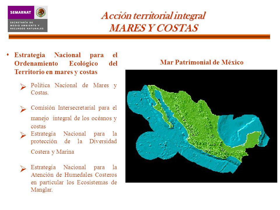 Estrategia Nacional para el Ordenamiento Ecológico del Territorio en mares y costas Política Nacional de Mares y Costas.