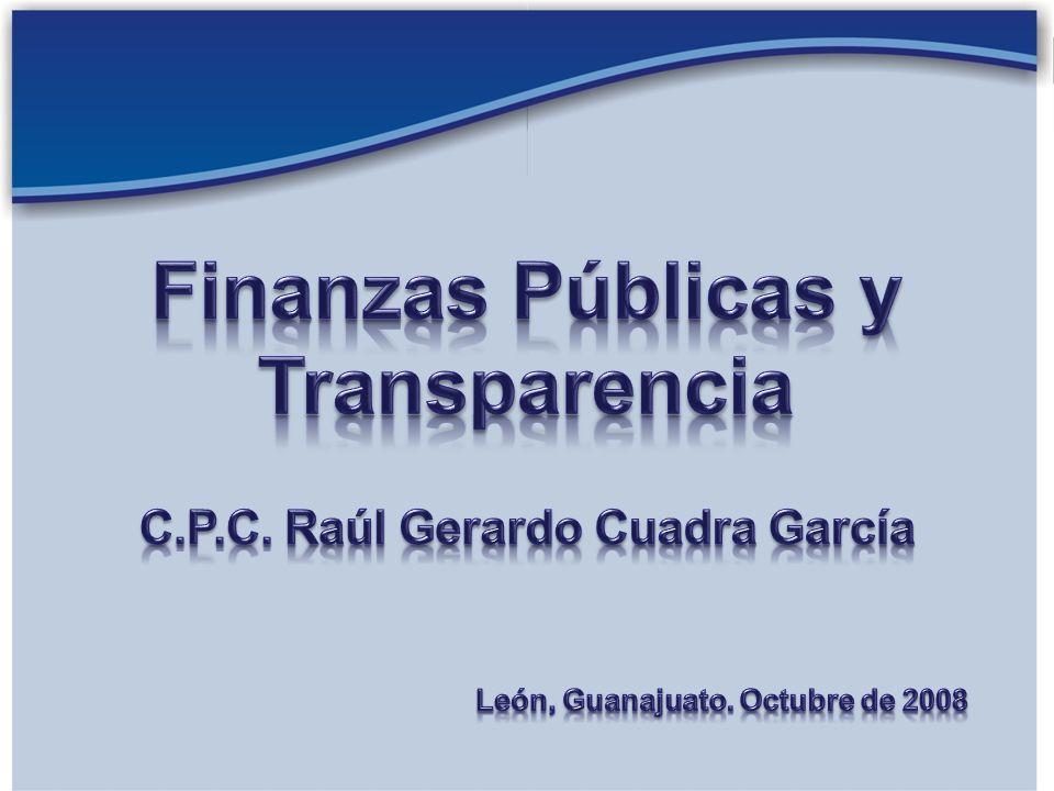 Las finanzas públicas son el principal instrumento de política económica para lograr el desarrollo de una nación.
