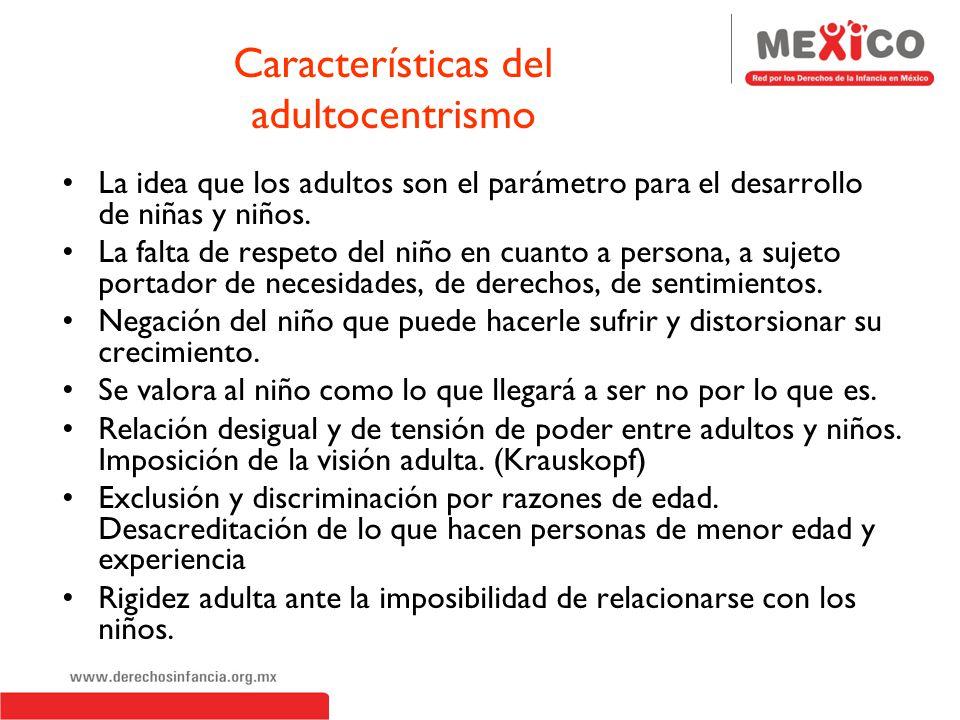 Adultocentrismo y Androcentrismo Cultura Patriarcal Androcentrismo Adultocentrismo