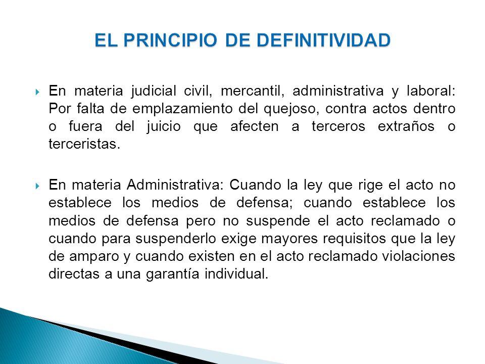 Artículo 5o.Son partes en el juicio de amparo: I.