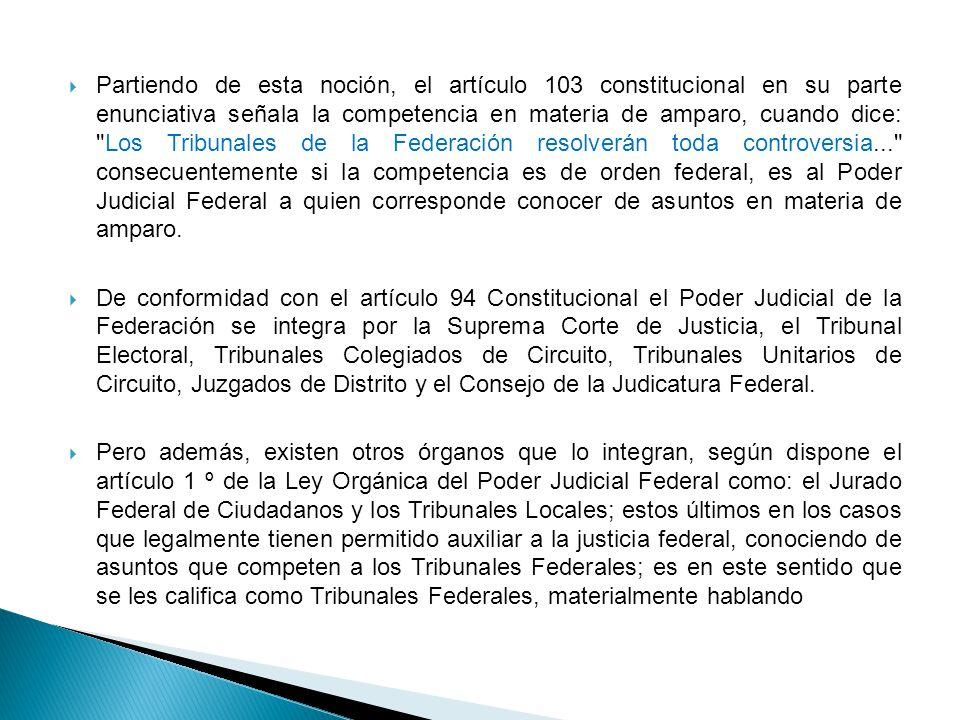 6 LEY ORGÁNICA DEL PODER JUDICIAL DE LA FEDERACIÓN.