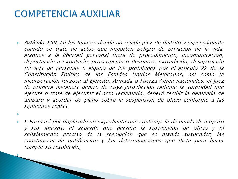 ARTICULO 159.II.