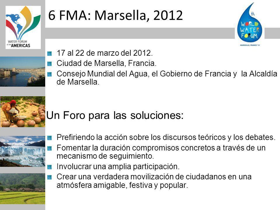 6 FMA: Marsella, 2012 17 al 22 de marzo del 2012. Ciudad de Marsella, Francia.
