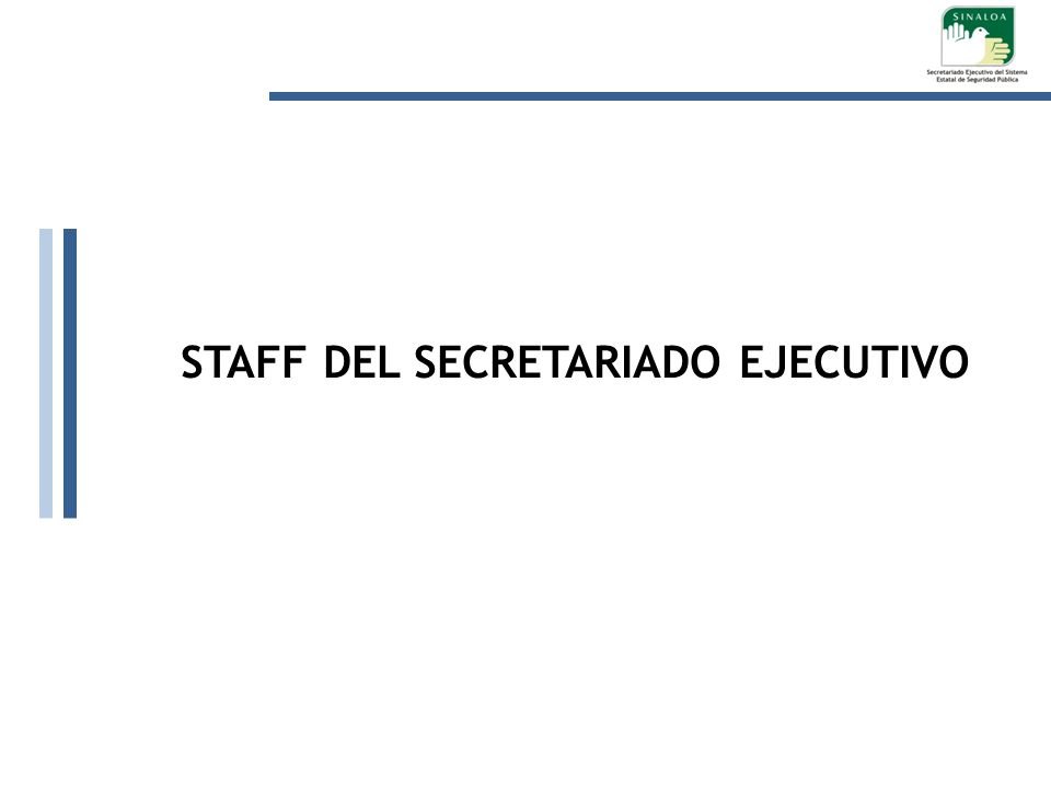 STAFF DEL SECRETARIADO EJECUTIVO