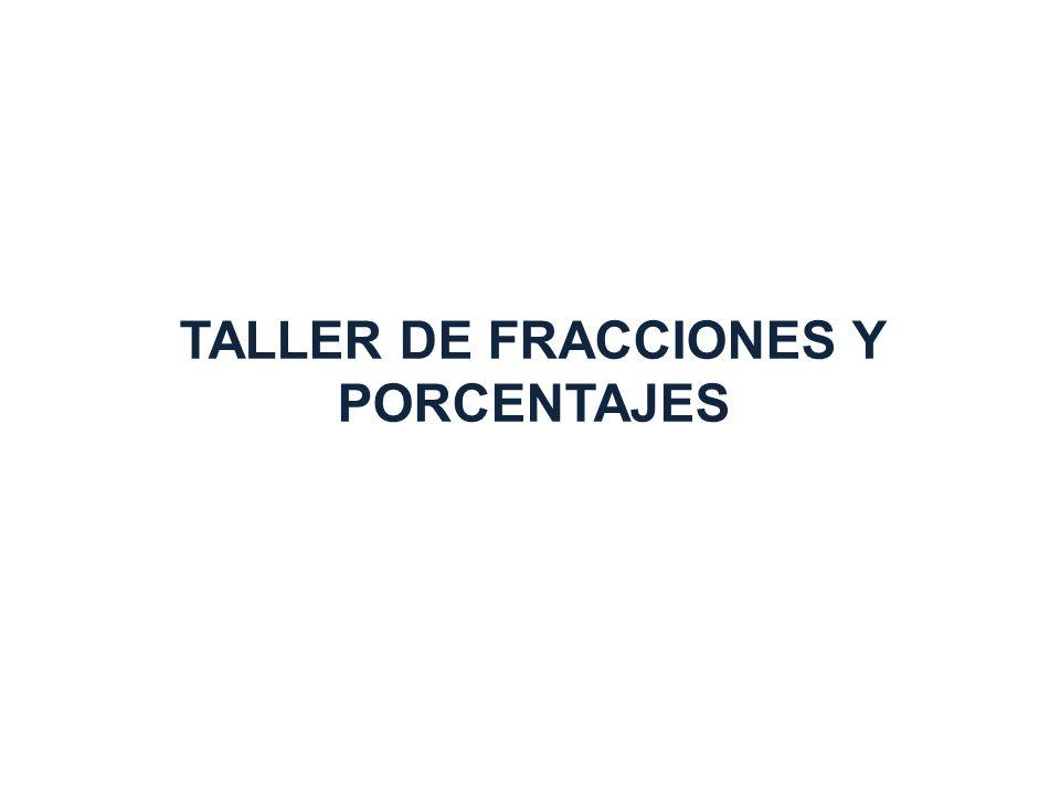 OBJETIVO GENERAL LOGRAR QUE LAS FIGURAS (ASESORES Y ASESORAS) ENCARGADAS DEL PROCESO EDUCATIVO DE LOS JÓVENES Y ADULTOS, AL TÉRMINO DEL TALLER: OBTENGAN UN MAYOR CONOCIMIENTO DEL CONTENIDO TEMÁTICO DEL MÓDULO DE FRACCIONES Y PORCENTAJES REFUERCEN SUS CONOCIMIENTOS EL DOMINIO DE LOS CONTENIDOS Y TEMÁS DE MAYOR DIFICULTAD.
