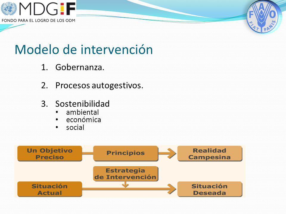 ¿Qué aporta la FAO en este contexto? Una estrategia de intervención enfocada al manejo de la microcuenca como unidad básica de la cuenca La planeación