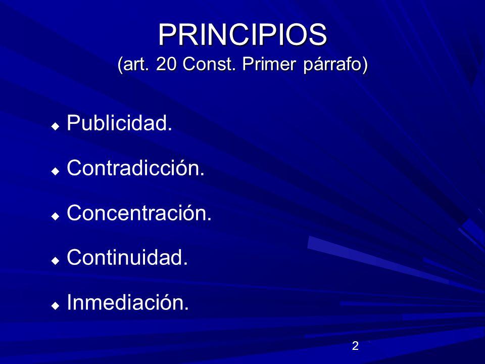 23 Defensa pública.
