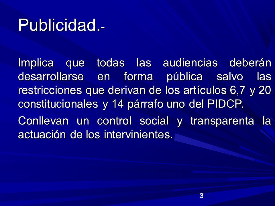 14 GARANTIAS DE LA VICTIMA U OFENDIDO.(LGV., 20 C, constitucional y arts.