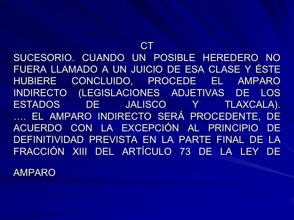 CT SUCESORIO.