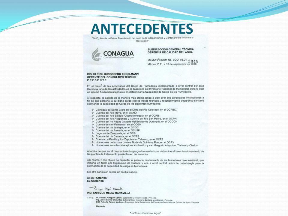 PROPIEDADES Y CARACTERÍSTICAS DE LOS MATERIALES DE SOPORTE MÁS USADOS EN LA CONSTRUCCIÓN DE LAGUNAS DE HIDRÓFITAS (HUMEDALES) DE FLUJO SUBSUPERFICIAL MATERIALTAMAÑO EFECTIVO (mm) POROSIDAD (P) (%) CONDUCTIVIDAD HIDRÁULICA (m 3 /m 2 -d) Arena gruesa228 - 30100 - 1000 Arena gravosa830 - 35500 - 5000 Grava fina1635 - 381000 – 10,000 Grava media3238 - 4010,000 – 250,000 Grava gruesa o roca12840 - 4550,000 – 250,000 Al diseñar el ancho de la celda requerida, se sugiere utilizar el límite inferior de la conductividad hidráulica para evitar desbordamientos durante la operación, por falta de sección
