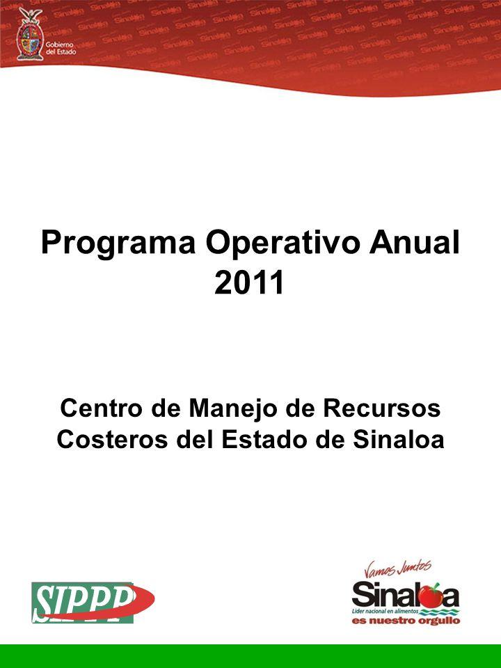 Sistema Integral de Planeación, Programación y Presupuestación Proceso para el Ejercicio Fiscal del año 2011 Gobierno del Estado Programa Operativo An