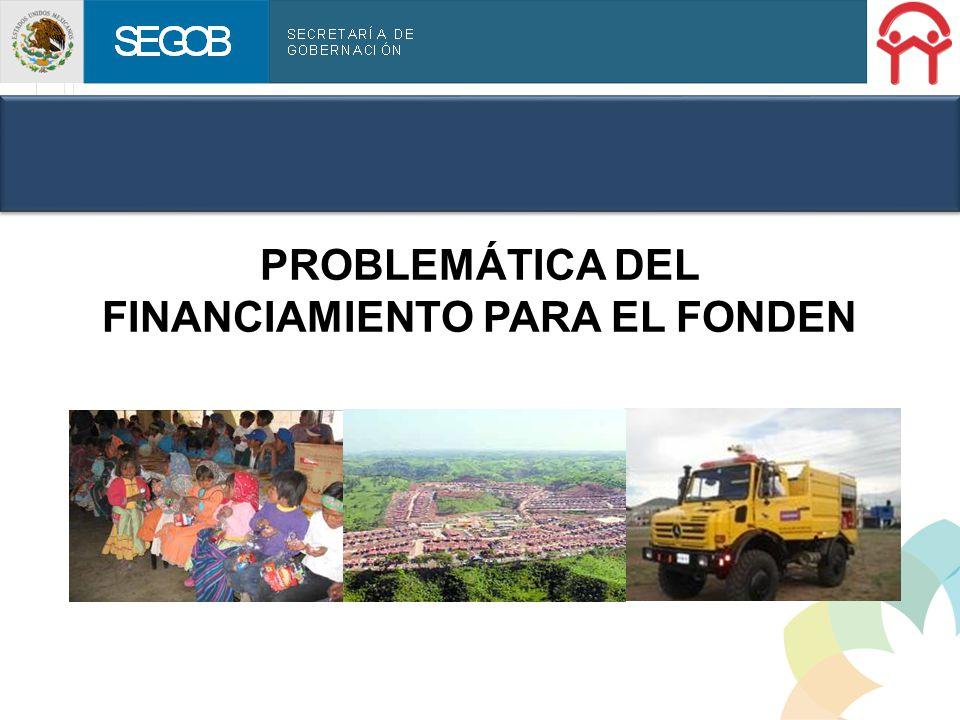 SEGOB Sistema Nacional de Protección Civil ESTADISTICAS 2010 Recursos del FONDEN reconstrucción autorizados por año Millones de pesos