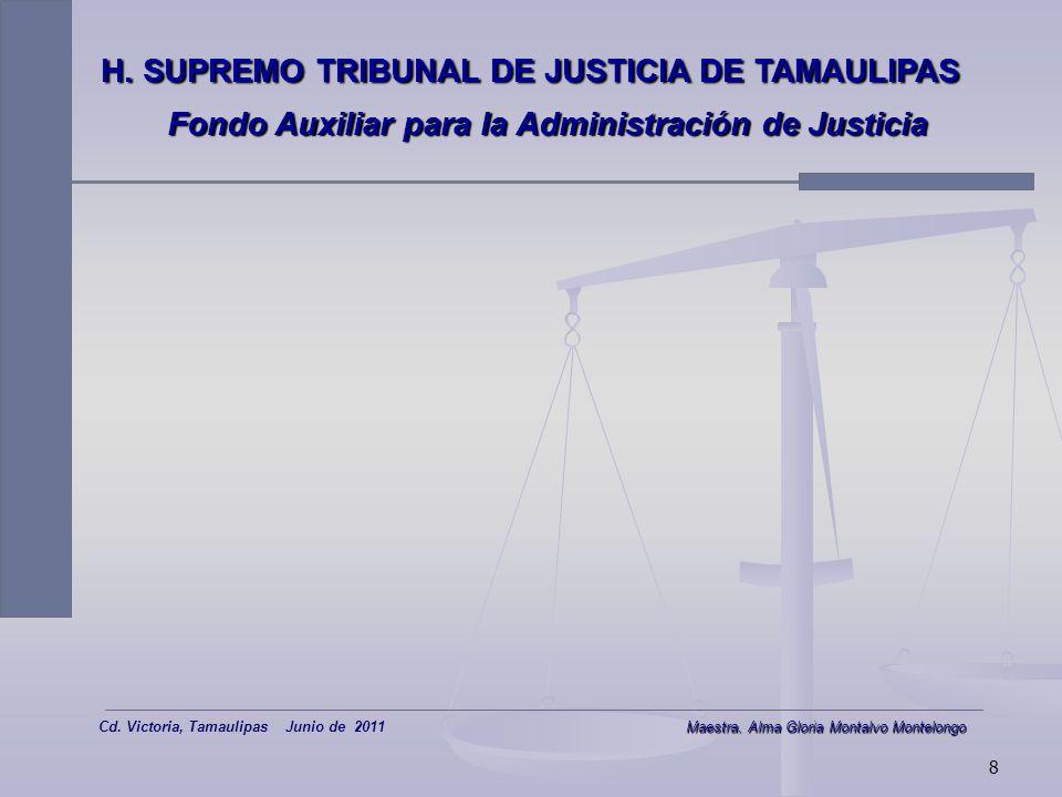 7 Fondo Auxiliar para la Administración de justicia SISTEMA: CONCENTRACIÓN Y DISPERSIÓN ELECTRÓNICA SISTEMA: CONCENTRACIÓN Y DISPERSIÓN ELECTRÓNICA 2ª Parte DIR Reembolso o liquidación Juzgado: concluye caso y notifica al afectado resolución Juzgado: Requisita DIR en Certificado, y Notifica.
