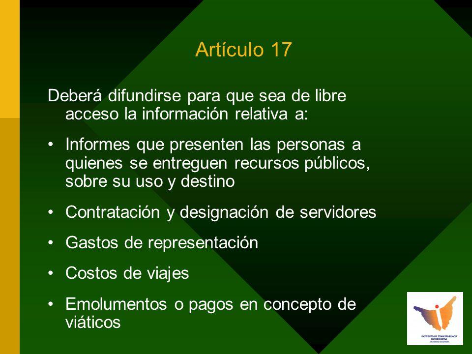 INSTITUTO DE TRANSPARENCIA INFORMATIVA Calle Galeana y Dr.