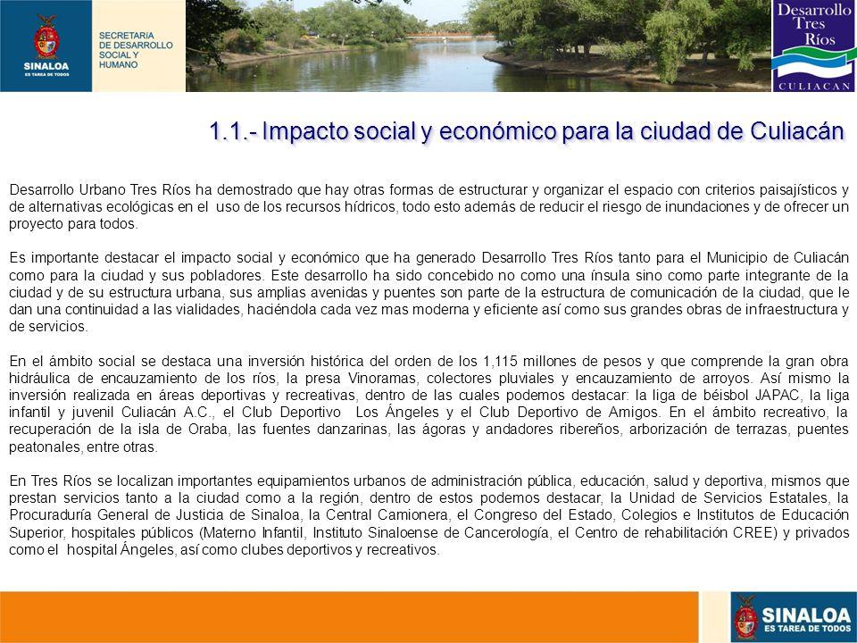 10 Desarrollo Urbano Tres Ríos ha demostrado que hay otras formas de estructurar y organizar el espacio con criterios paisajísticos y de alternativas