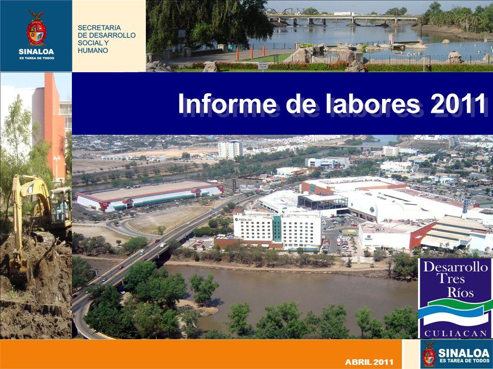 Informe de labores 2011 ABRIL 2011