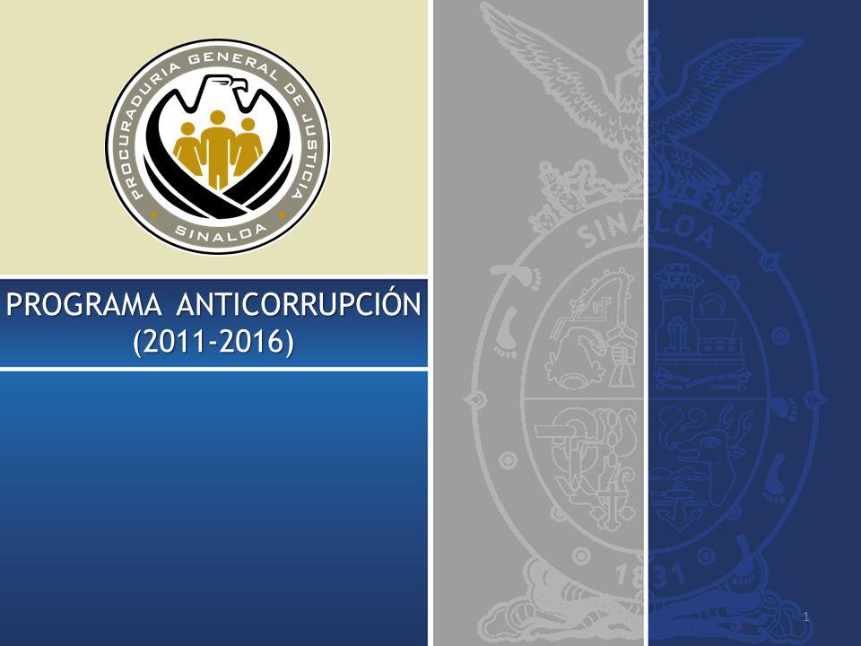 PROGRAMA ANTICORRUPCIÓN (2011-2016) 1