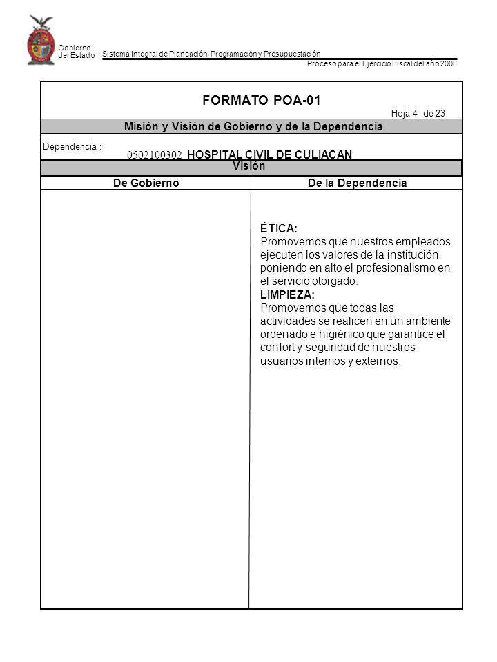 Sistema Integral de Planeación, Programación y Presupuestación Proceso para el Ejercicio Fiscal del año 2008 Gobierno del Estado De GobiernoDe la Depe
