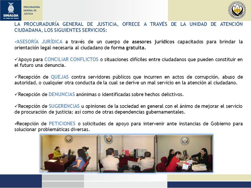 Información integral sobre TRÁMITES Y SERVICIOS, así como del Directorio de servidores públicos de Procuraduría General de Justicia.