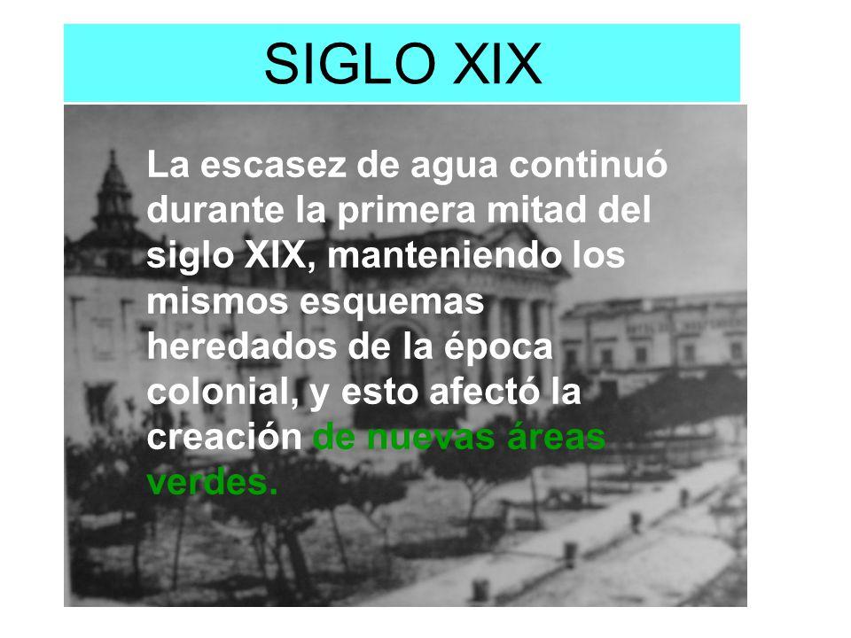 DISMINUCIÓN DE LA SEQUIA EN GUADALAJARA: UN EJEMPLO DE BUEN GOBIERNO El agua dejo de escasear en Guadalajara, al entrar en operación en febrero de 1901 un sistema de suministro de agua en los manantiales de los Colomos.