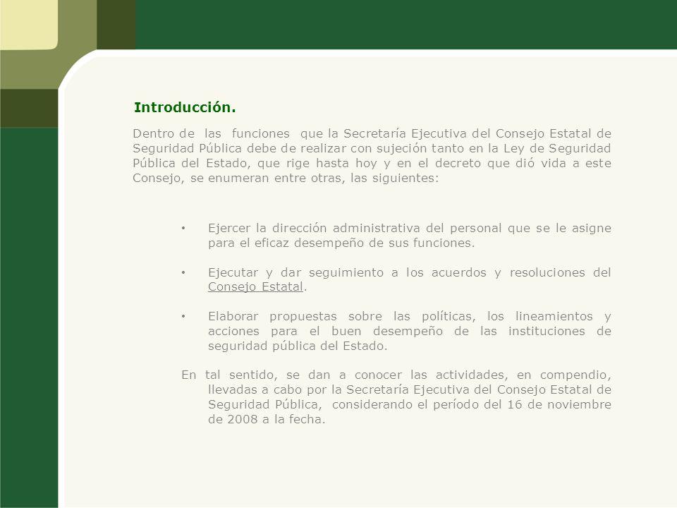 Actualización del Registro Nacional de Personal de Seguridad Pública.