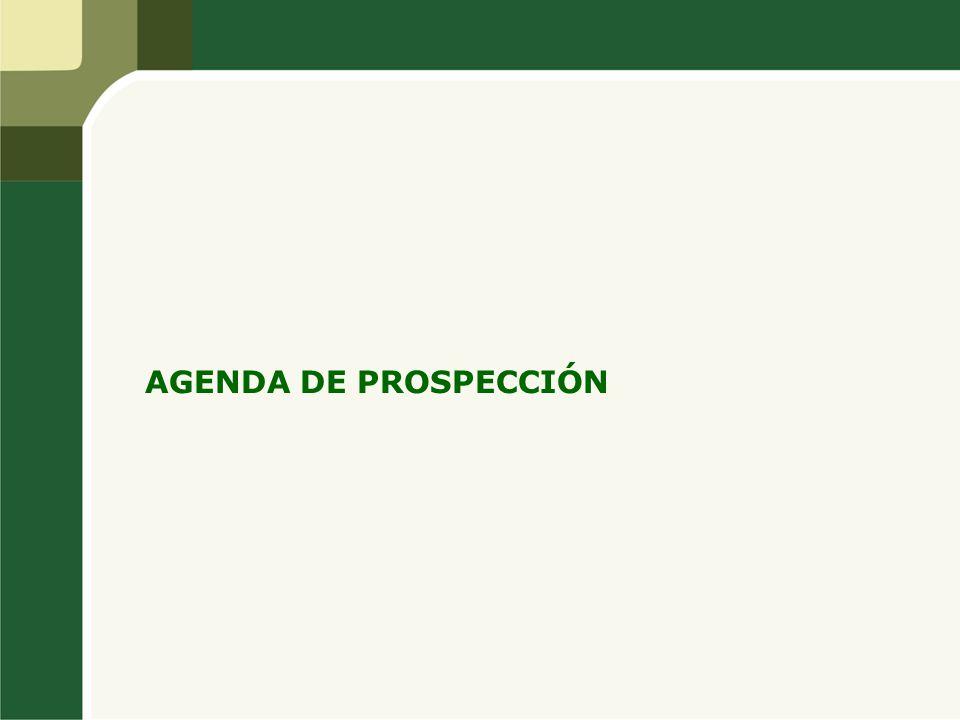 AGENDA DE PROSPECCIÓN