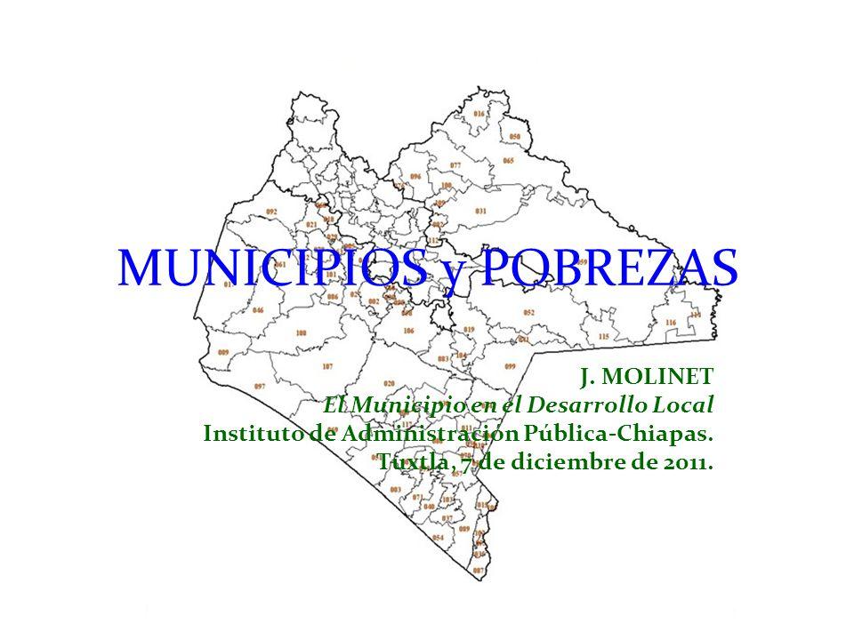 MUNICIPIOS y POBREZAS J.