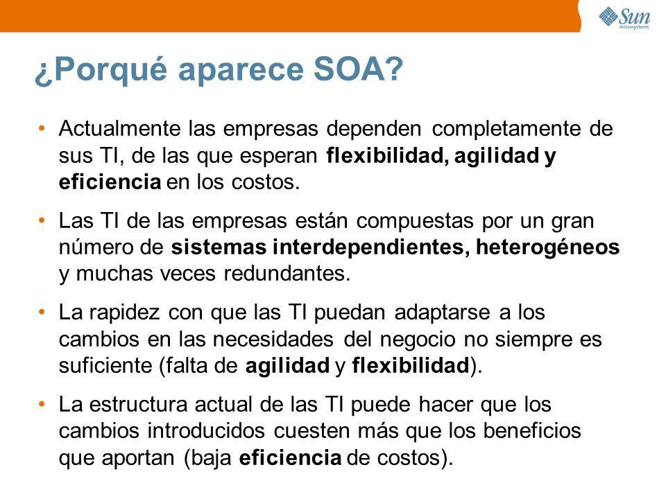 En qué consiste SOA.