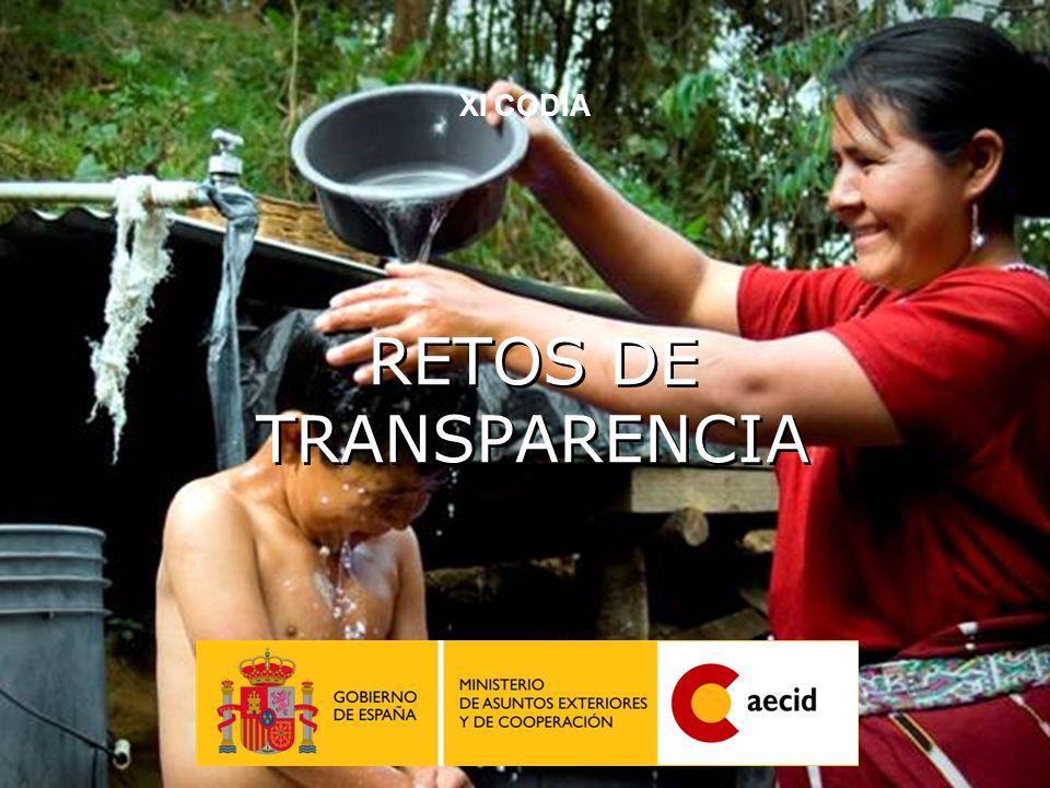 23 RETOS DE TRANSPARENCIA XI CODIA