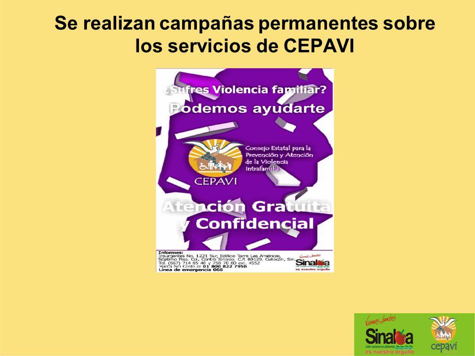 Se realizan campañas permanentes sobre los servicios de CEPAVI