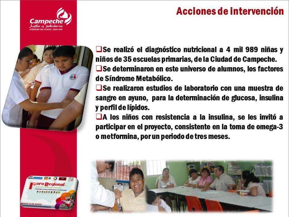 Se realizó el diagnóstico nutricional a 4 mil 989 niñas y niños de 35 escuelas primarias, de la Ciudad de Campeche.