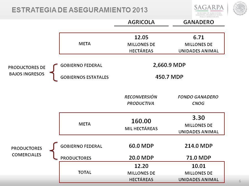 6 ESTRATEGIA DE ASEGURAMIENTO 2013