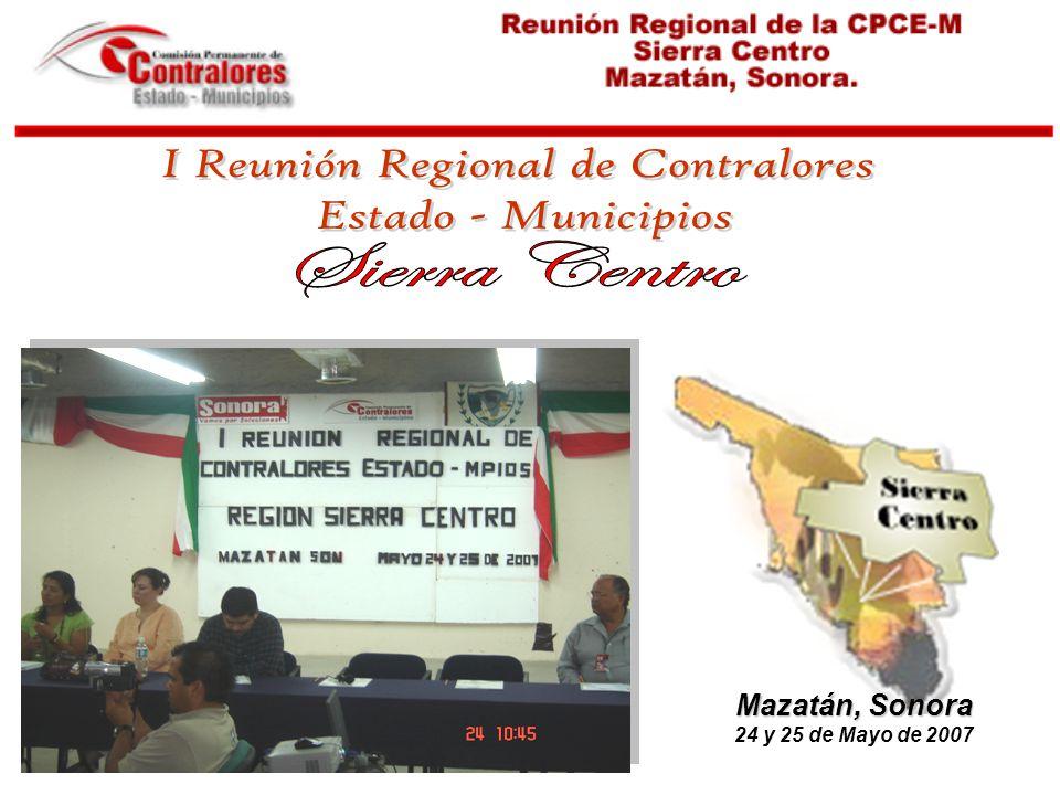Mazatán, Sonora 24 y 25 de Mayo de 2007