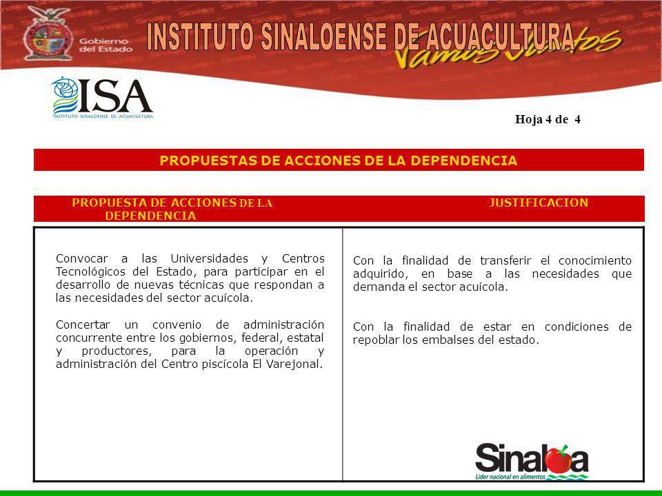 Sistema Integral de Planeación, Programación y Presupuestación del Gasto Público Proceso para el Ejercicio Fiscal del año 2005 PROPUESTAS DE ACCIONES