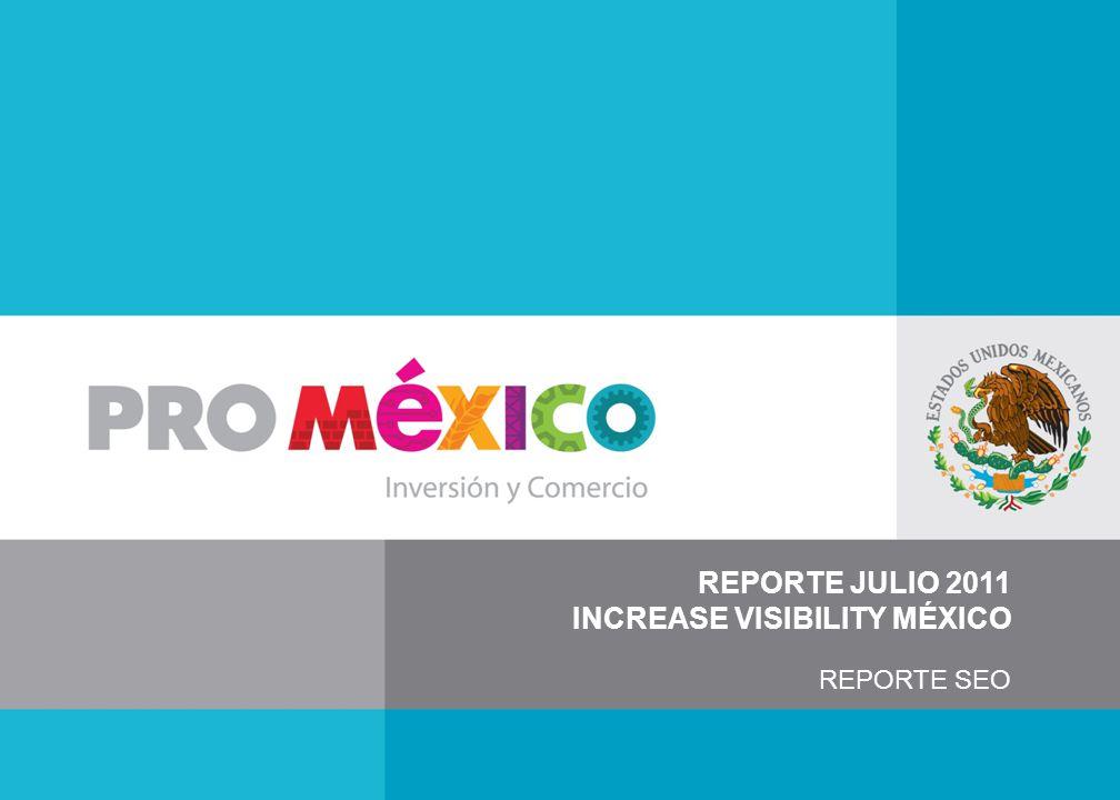 REPORTE JULIO 2011 INCREASE VISIBILITY MÉXICO REPORTE SEO
