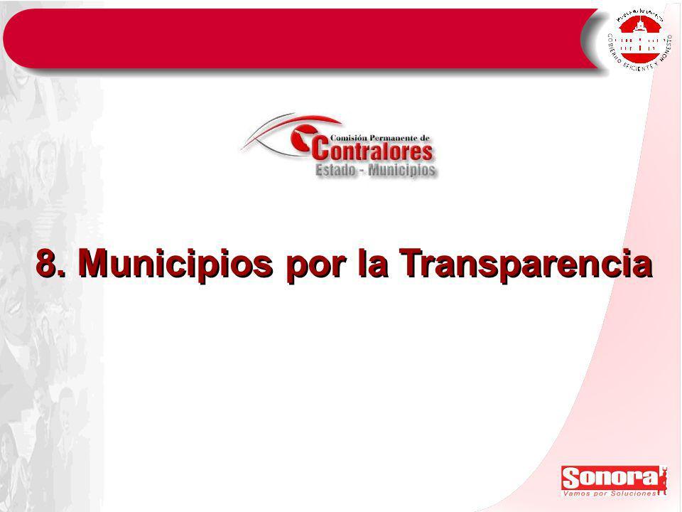 8. Municipios por la Transparencia