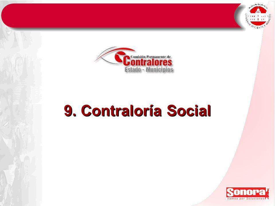 9. Contraloría Social