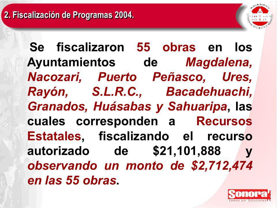 3. Verificación de Programas 2005