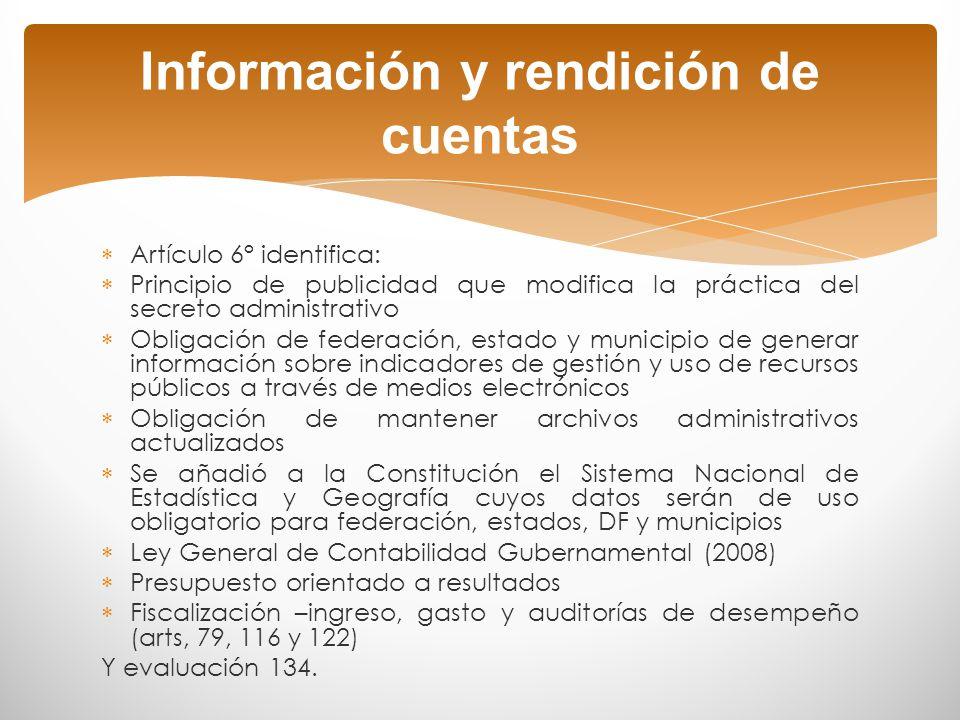 Guillermo O´Donnell Rendición de cuentas La horizontal, referida a las relaciones de control y vigilancia que establecen entre sí las agencias del Estado.