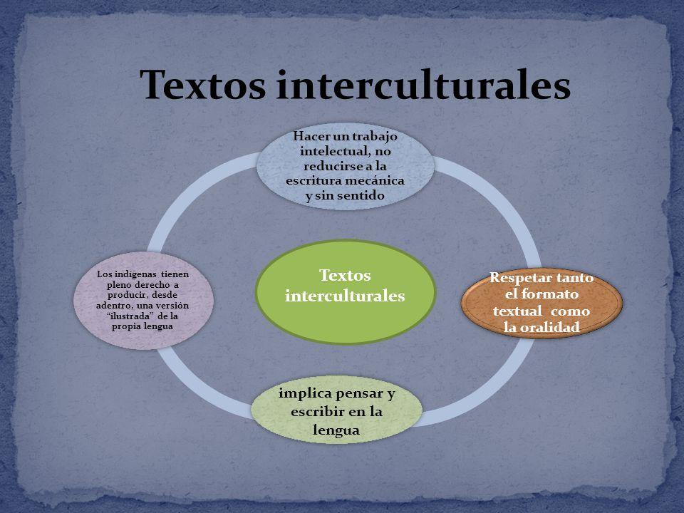 El lenguaje es un punto de cohesión e identidad cultural de los pueblos.