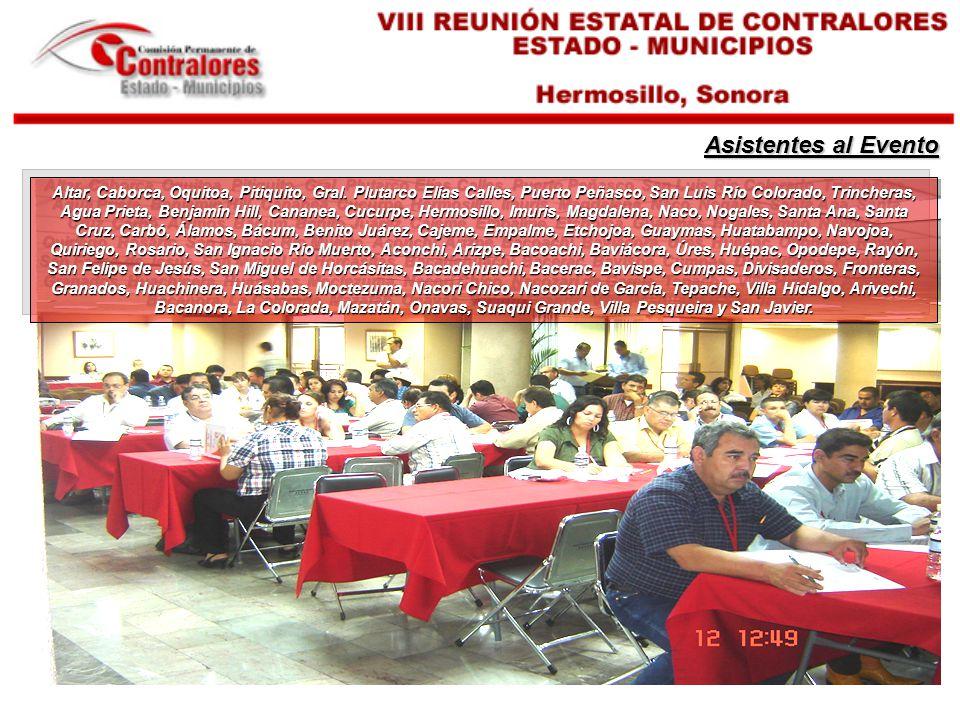 Participantes Expositores I LIC.
