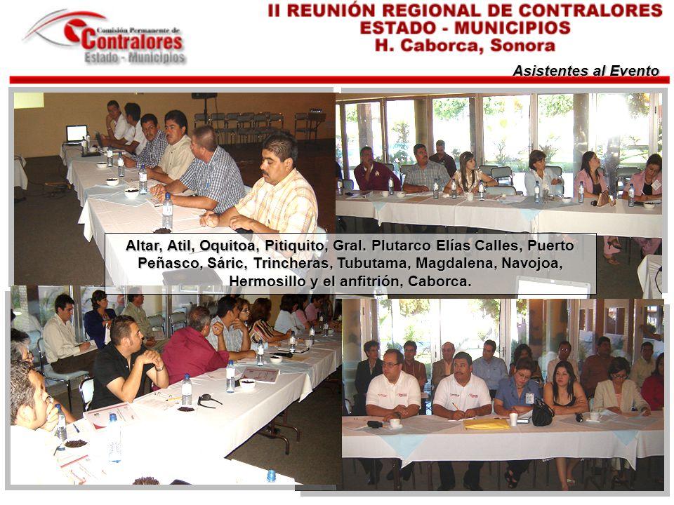 Asistentes al Evento Altar, Atil, Oquitoa, Pitiquito, Gral.